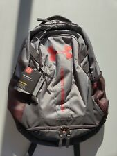 Under Armour Hustle 3.0 Backpack White/Charcoal NWT