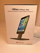 HiRise for iPhone + iPad - Twelve South / Adjustable Charging Stand / New In Box