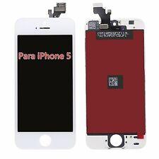 LCD y Pantalla Táctil Display Para iPhone 5 Reparación Frontal Blanco Completa