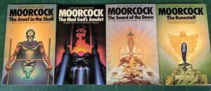 Michael Moorcock - The History of the Runestaff 4 book box set (Mayflower 1973)