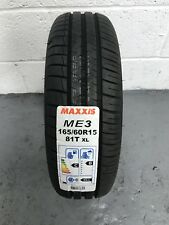 1 x 165/60 R15 Maxxis Mecotra ME3 81T XL 165 60 15 (1656015) - ONE TYRE (NEW)