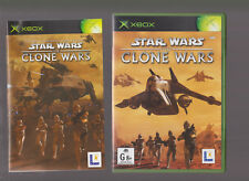 LIKE NEW RARE STAR WARS THE CLONE WARS  (Xbox & Xbox 360) complete MINT