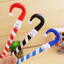 2pcs Christmas Snowman Clown Ball Point Pen Ballpoint Stationery Student Gift CN
