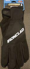 Ironclad Summit Work Gloves Insulated 40f Medium Black Windproof Reflective