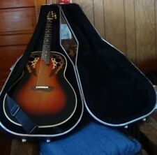 Ovation 1718 Elite  With Hard Case 2 Tone Sunburst Made in the USA