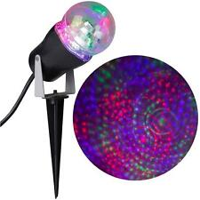 Gemmy LightShow LED Phantasm RGB Red Green Blue Stake Light Set