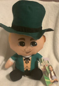 "New Wizard of Oz Plush 11"" - Wizard, could also be Leprechaun/ND Fighting Irish"