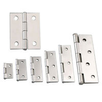 1 Pairs Stainless Steel Cafe Saloon Door Flat hinge Double Action Spring Hinge