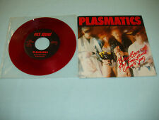 "PLASMATICS Butcher Baby 7"" RED color vinyl single US metal Punk 1st press"