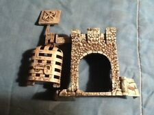 Battleground Crossbows and Catapults Plastic Grey Knight Hostage Tower Game Part