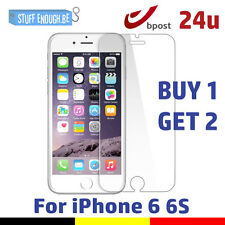 2 FOR 1 Screen Protector LCD Protecteur Real Tempered Glass Film For iPhone 6/6S