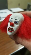 Tim curry Pennywise the clown fang version from it head for 12 inch body new