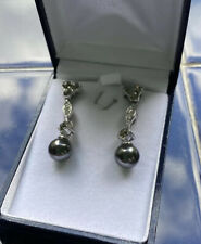 Earrings - Make Lovely Present Beautiful Swarovski Crystal And Pearl