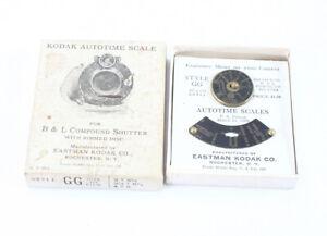 KODAK AUTOTIME SCALES FOR CAMERA SHUTTERS TYPE GG (READ)/cks/199075