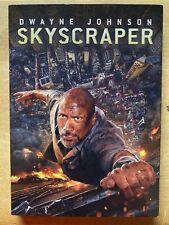 Skyscraper (DVD, 2018) Slip Sleeve EUC