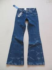 Lee Felton Schlag Jeans Hose W 28 /L 32, NEU ! Hippie Flared, Batik Wash Denim !