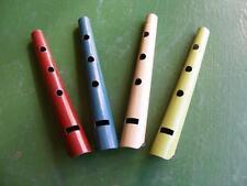 Petites flutes métaliques. jouet des années 1950, jeu, instrument de musique