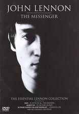 John Lennon The Messenger DVD Musique+CD Audio + 32 Page Super Colour Booklet
