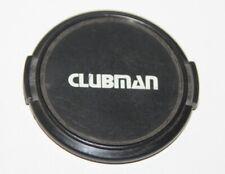 Clubman - 52mm Snap-on Lens Cap
