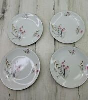 4 Royal Duchess Fine China Mountain Bell Bavaria Germany Salad Plate 7.75""