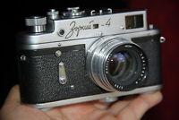 Film camera Photo ZORKI 4 Trunk Case JUPITER – 8 2/50 50mm lens MADE in USSR №2