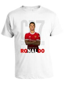 Cristiano Ronaldo Back To Man Utd T-Shirt All sizes available