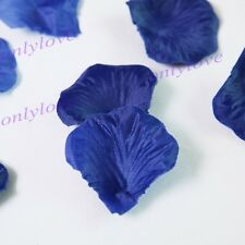 100/500/1000pcs Silk Flower Rose Petals Wedding Table Confetti Party Decorations