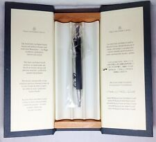 Graf Von Faber-Castell Guilloche Black Ball Pen New in Box Product
