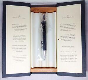 Graf Von Faber-Castell Guilloche Black Ball Pen New in Box Product