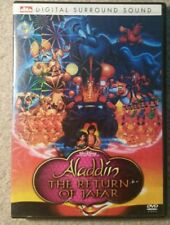 Aladdin,Return of Jafar dts Digital Surround Sound DVD,Won't Play on all Devices