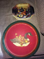 1998 Duck Tray Wang's International +1980s Vintage Mini Meal Tray Junk Drawer