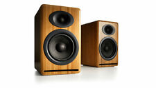 Audioengine P4 Bamboo Bookshelf Speaker Pair - Free Shipping - Full Warranty