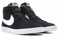 Nike Blazer Mid PRM Black White Premium Mid Top 429988 006 Men's Shoes Size 14