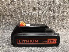 1 Black & Decker 20-Volt MAX 1.5AH. Lithium Ion Battery   LBXR20