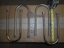 """Set of 4 New U-bolts Mopar 8 3/4 Dana 60 Rearend 3"""" x 8"""" Dodge Plymouth 8 1/4"""""""