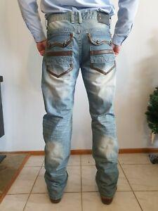"""G-STAR RAW 3301 Mens Jeans W-39.5"""" Circumference / L-34""""."""
