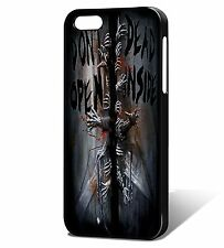 Dont Open Dead Inside Zombie Phone Case Cover, Fits iPhone, The Walking Dead