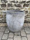 Vintage Galvanised Dolly Tub~Planter~Rustic~Original Vintage~Good Condition~