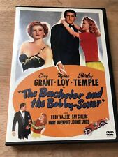 THE BACHELOR AND THE BOBBY-SOXER CARY GRANT SHIRLEY TEMPLE MYRNA LOY L.N.WB DVD