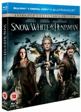 SNOW WHITE & THE HUNTSMAN BLU RAY NEW SEALED EXTENDED COLLECTORS EDITION DIGITAL
