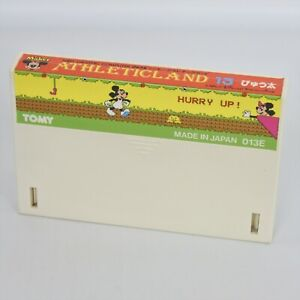 MICKEY ATHLETIC LAND Cartrige Only PYUTA Tomy Tutor 16bit Graphic Computer 2474