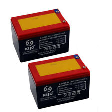 2 x 6DZM12 12V 12AH Battery for Electric/Mobility Scooters E- bikes Mowers 24V