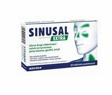 SINUSAL EXTRA 30 TABL. sinus throat and vocal cords , zatoki gardło drogi oddech