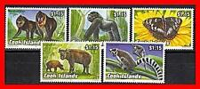 Cook Islands 1993 Animals MNH CATTLE BUTTERFLIES INSECTS PRIMATES APES (NT-A)