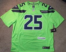 NWT Nike Seattle Seahawks Color Rush Limited Jersey RICHARD SHERMAN  25 Sz  2XL 38b23a1cf