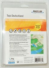 NEW Magellan Topo Deutschland Germany Maps loaded SD Card Triton 500 2000 1500