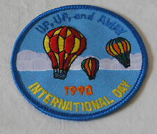 Girl Scout Patch Patches Free Ship LOT OF 11 UpUpandAway 1990 International Day