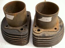 1956-59 AJS Matchless G11 600cc 7 fin pair cylinders M
