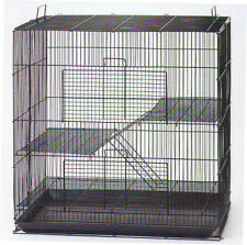 NEW Hamster Sugar Glider Chinchilla Ferret Rat Mice Animal Cage K701H Black-888