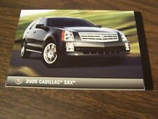 2005 CADILLAC SRX - DEALERSHIP POST CARDS - MINT